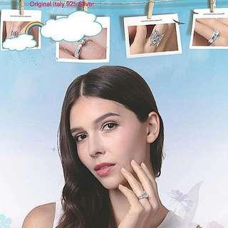 925 Silver Ladies Rings 1