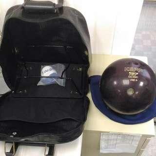 🚚 Keff保齡球+套++包+防滑球