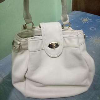 cute white bag from japan