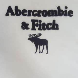 Abercrombie & Fitch A&F White T-Shirt