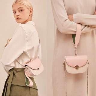韓國 可愛好質感金鏈條小包 手提包 肩背包
