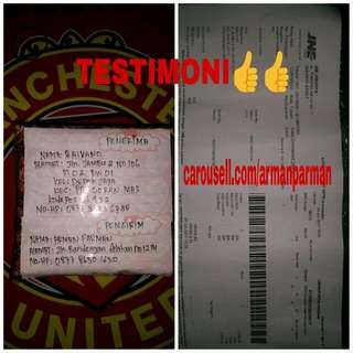 Testimoni 100💯% TRUSTED No PHP