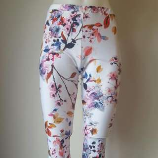 Floral Tights From RUBY