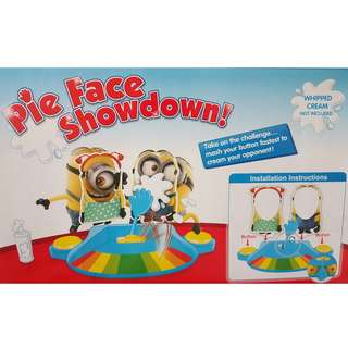 Minions Pie Face Showdown Funny Challenge Game