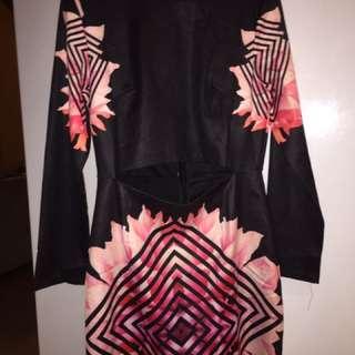 Cute Dress W/ Tummy Slit