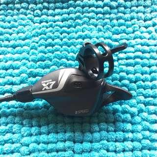 SRAM X7 Front Trigger, Adjustable Clamp