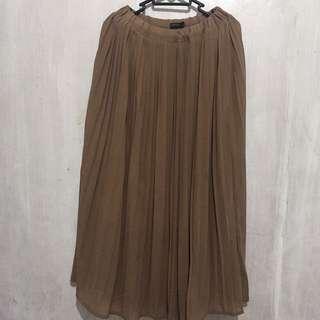 Woman Chiffon Long Skirt