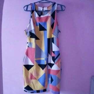 Colorfull dress