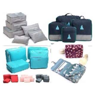 Cheapest Travel Organisers*Travel Bag*Travel Accessories*4 pcs set*5 pcs set*6 pcs set