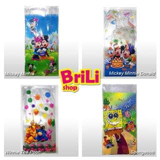Plastik Snack Souvenir Ultah | Goodie Bag | Ulang Tahun