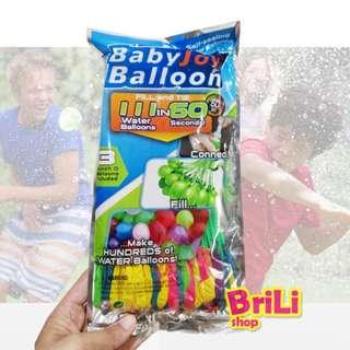 Balon Air (isi 111pcs) | Magic Bunch O Balloons | Water Balloons