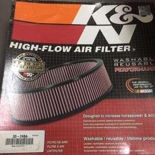 K&N high performance air filter 33-2484