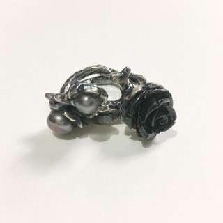 Dark Rose Dual Ring