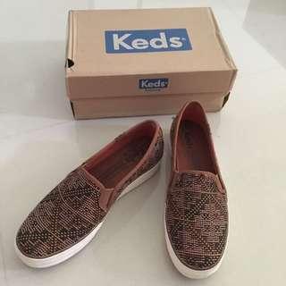 'Keds' Triple Decker Stitch Brown