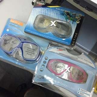 Speedo 潛水眼罩 全新貨版 X已售出