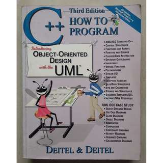 How to Program C++. Introducing Object-Oriented Design with UML