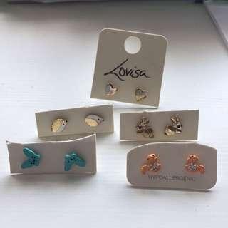 Lovisa Earrings Set (AUS) SALE 60% OFF!