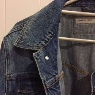 Oversized Denim Jackeg