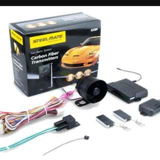 Steel Mate Carbon Fiber Car Alarm System