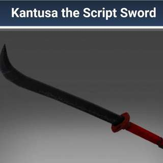 Kantusa The Script Sword