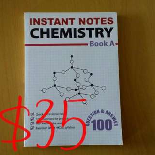 Instant Notes Chemistry BookA