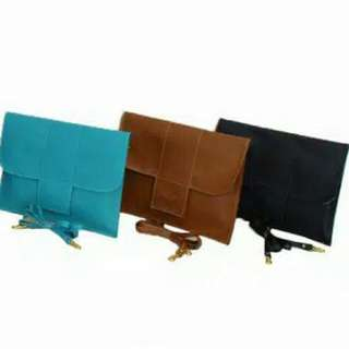 New Clucth Faux Leather Warna Warni