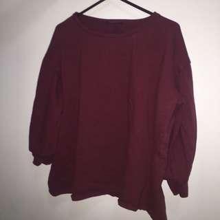Crown-neck Sweater