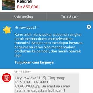 Thank You Carousell