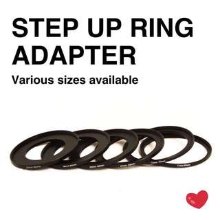Step Up Ring Adapter