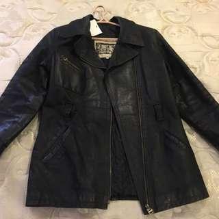 Genuine Italian Leather Jacket For Women (black)