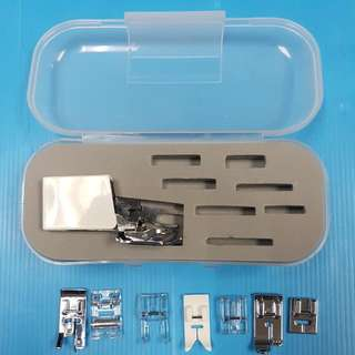 *WalkingFoot inside* for basic use. 8 Presser Foot Set