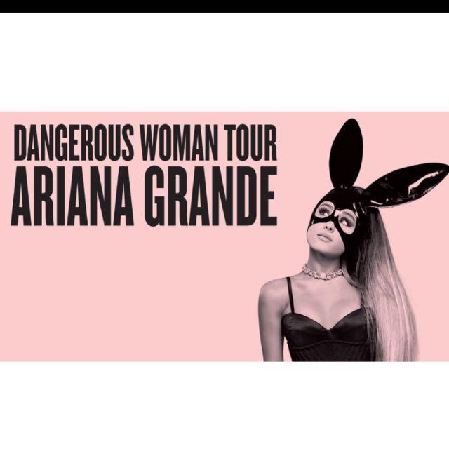 1x GA To Ariana Grande Tuesday 5th September
