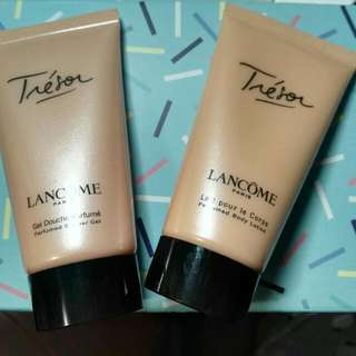 Lancome Tresor Body Lotion And Shower Gel