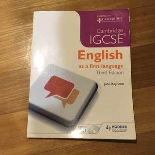 English as a First Language
