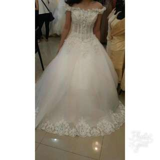 Formal Wedding or Debut Ball Gown