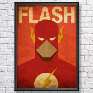 Flash A4 Wall Art