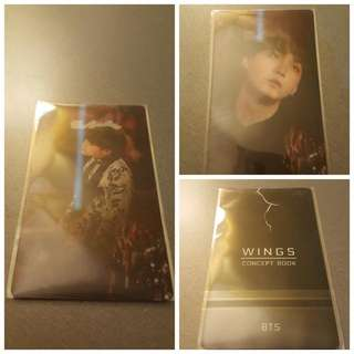 OFFICIAL SUGA LENTICULAR CARD