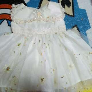 Free Sf Mm Only baby christening dress