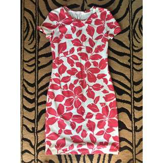 Floral Bodycon Dress (never worn)