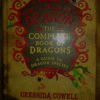 How To Train Your Dragon: The Complete Book Of Dragons