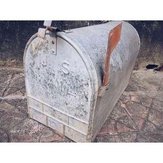 //ORI DECO 工業風老件// 美國 USMAIL 老信箱 加大版