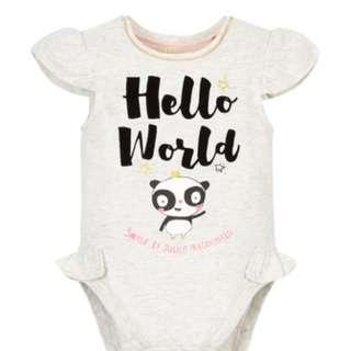 SMILE by Julien Macdonald - Hello World Bodysuit