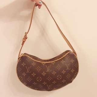 LV Monogram Croissant Shoulder Bag