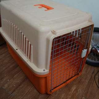 【寵愛物語】大型犬用 / 30kg以內 RU22航空外出籠/提籠/運輸籠 橘色