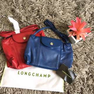 💯Authentic LC crossbody blue & Red