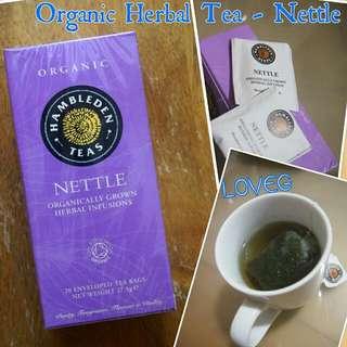 有機草本茶蕁麻茶包 / Organic Herbal Tea Nettle Tea Bags from Hambleden