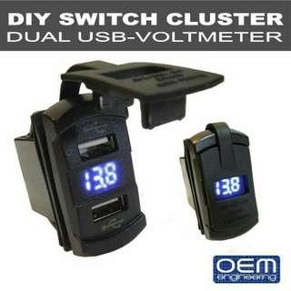 OEM Engineering Dual USB - Voltmeter