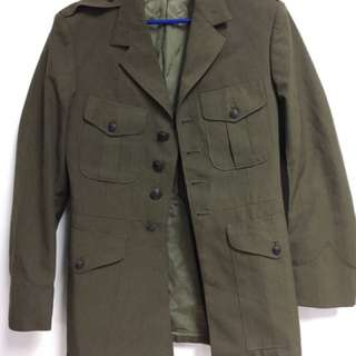 Original US Army Jacket Trench Coat Military