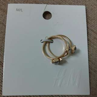 H&M Triple Ring