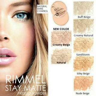 🇺🇸Authentic Rimmel London Stay Matte Pressed Powder